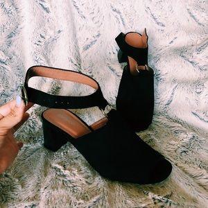 Topshop peep toe sandal